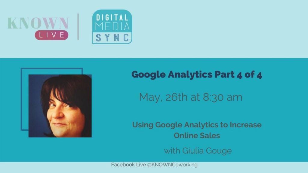 Digital Media Sync Use Google Analytics to Increase Online Sales