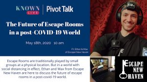 Known Live Pivot Talk Escape Room Future