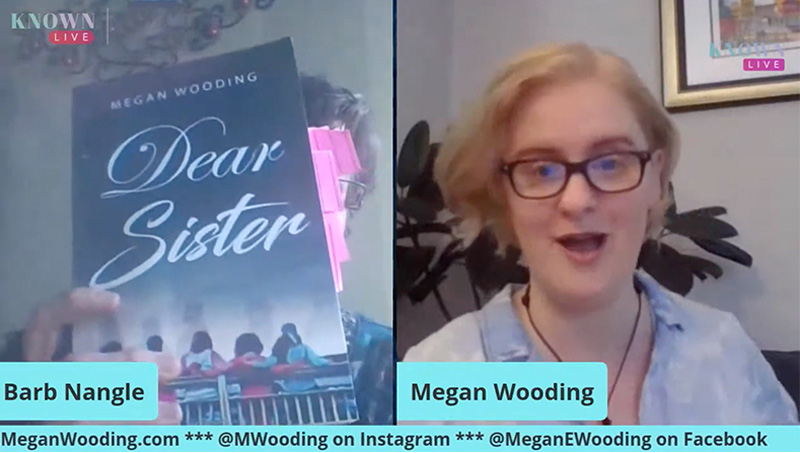 Megan Wooding author of Dear Sister