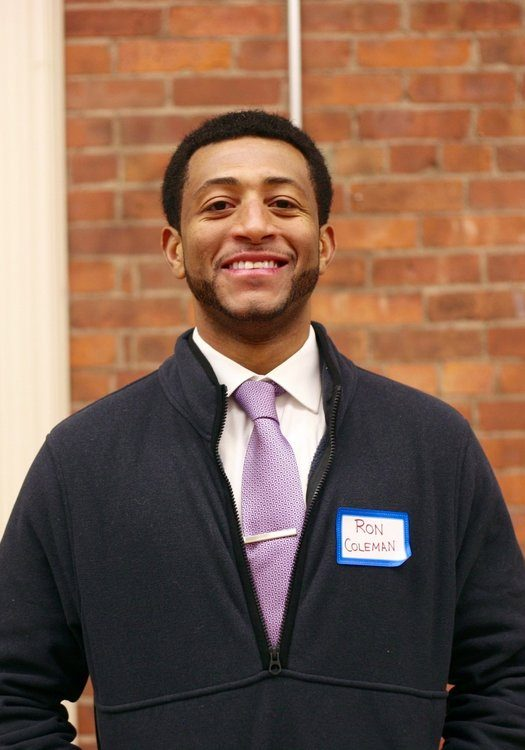 Ron Coleman of New Haven Counts